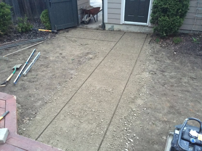 Before Laying Bricks for Interlocking Project