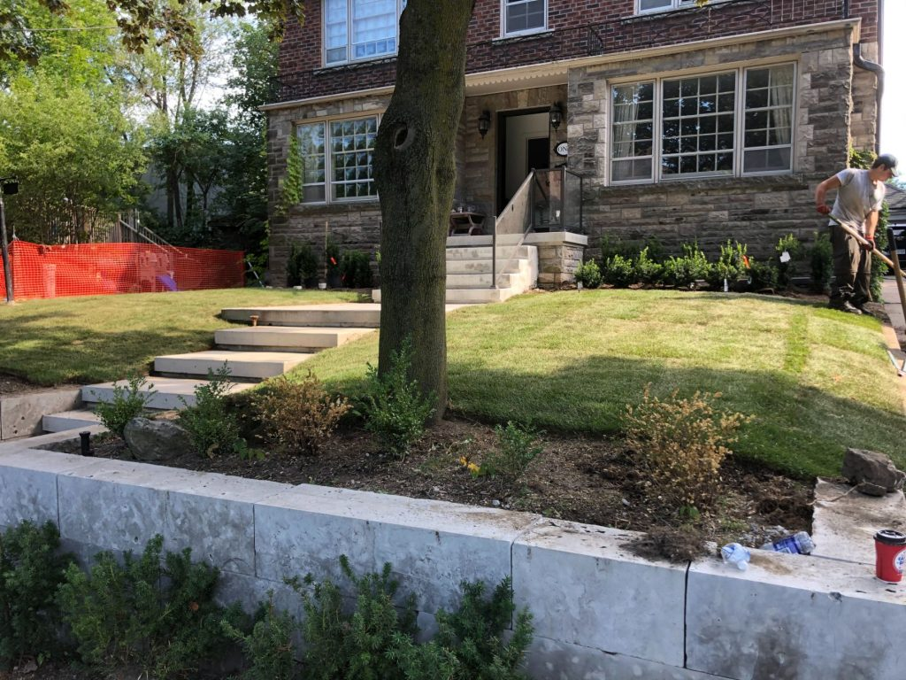 Luxury Landscaping by ISR Gardening Services Toronto