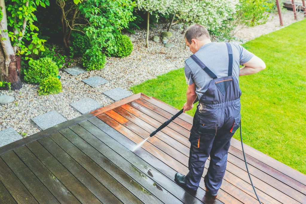 Pressure Washed Services