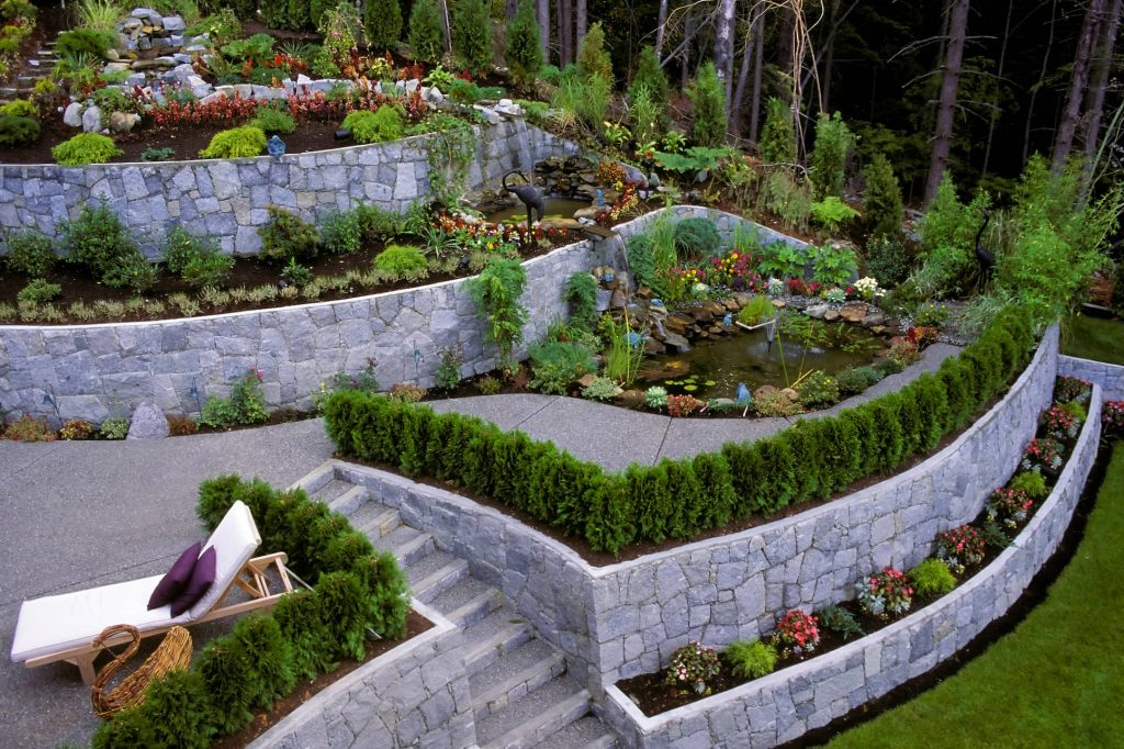 Retaining Wall Services By ISR Gardening