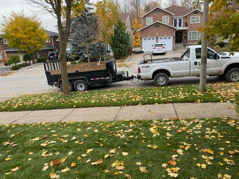 Spring Cleanup by ISR Gardening Services Toronto